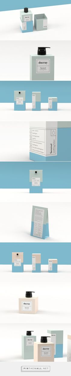 Ducray Sensinol - Rebranding on Behance... - a grouped images picture