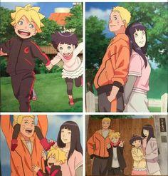 Uzumaki family #Naruto #Hinata