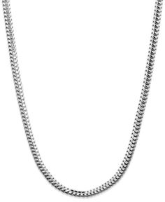 """$120 Giani Bernini Sterling Silver Necklace, 20"""" Round Snake Chain Necklace  #GianiBernini #Chain"""