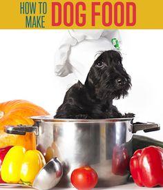How to make dog food | Dog Food Recipe