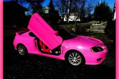 Check out customized Pink Luver's 2005 Hyundai Tiburon  photos, parts, specs, modification, for sale information and follow Pink Luver in  NB for any latest updates on 2005 Hyundai Tiburon at CarDomain.