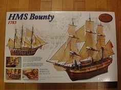 Rare Scale Model Kit Collection - HMS Bounty (1783) - Artesania Latina 1/48 Scale Model Kit