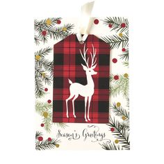 Plaid Tag Cards - Anna Griffin