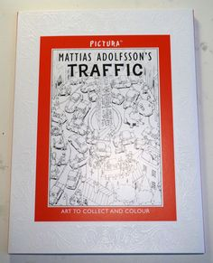 Mattias Adolfsson Traffic by Mattias Adolfsson, via Behance Awesome art you can purchase and color! If you're interested go to Behance.com. Adolfsson's drawings are neat! ~Nurse Payne
