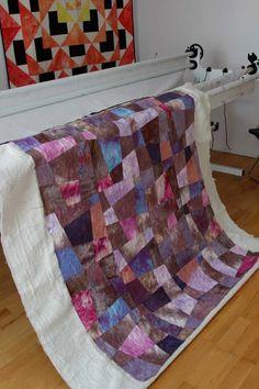 Longarm Handi Quilter Amara, quilting and sewing, crafts projects, DIY, handdyed fabrics, Handi Quilter, Longarm Quilting, Home Accessories, Sewing Crafts, Craft Projects, Fabrics, Textiles, Quilts, Blanket