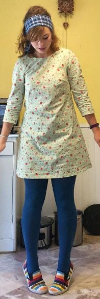 Sarah's Francoise dress - sewing pattern by Tilly and the Buttons