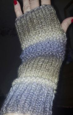 Instant Download PDF Knitting Pattern for Slouchy Arm by Shelleden, $3.00 QUICK AND EASY TO MAKE!