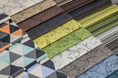 """Nasze nowe tkaniny z nadrukiem #upholstery #print #fabrics  Fot. Tomasz Markowski, miesięcznik """"BIZNES meble.pl"""""""