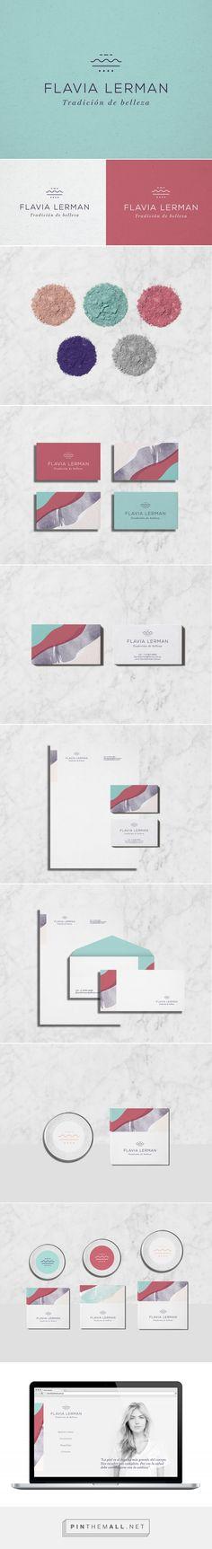 Flavia Lerman Beauty Branding by Cobra Studio | Fivestar Branding Agency – Design and Branding Agency & Curated Inspiration Gallery