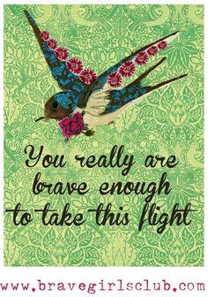 Brave quote