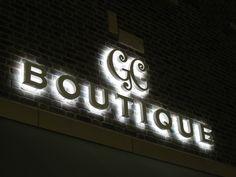 Boutique #sign