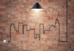 Brick Effect Old Chicago Tiles 10x20 - A brick effect tile that when done looks just like a real brick wall, a easy alternative to brick slips.