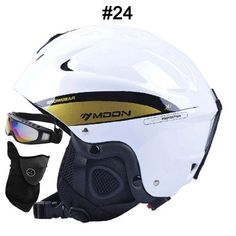 MOON Skiing Helmet Autumn Winter Adult and Children Snowboard Skateboard Skiing Equipment Snow Sports Safty Ski Helmets