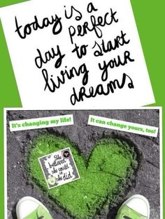 If not today, when? How long will you wait to change your life & start living your dreams? I started mine with It Works Global & you can, too!