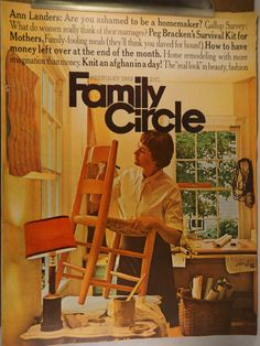 https://flic.kr/p/vJ7F3y | Family Circle Febuary 1968 | $6.00 each plus Shipping.