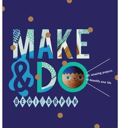 Inspiring projects for making the perfect craft from different materials such as paper, fabric, wood and found objects.
