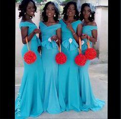 Nigerian Wedding   Pomander bouquets for bridesmaids