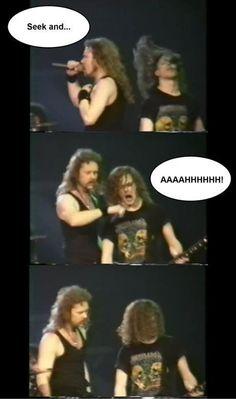 Funny Metallica Moment