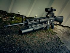 M-16 with M203 grenade launcher
