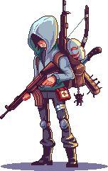 Saiko Survivor Pixel Artist: saiko-raito Source: pixeljoint.com