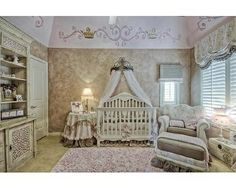 a nursery fit for a princess <3