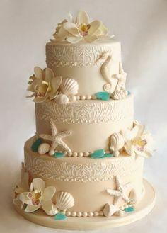 Hawaiian Wedding Cake | 10 Hawaiian Style Wedding Cakes