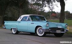 1957 Ford Thunderbird  American Dream Car