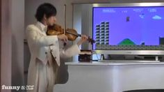 Super Mario Bros Theme on Violin