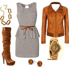 """Fall Work Day"" by synde-manning-salley on Polyvore"