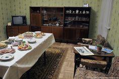 Музей-ресторан «Квартира Времени», интерьер 80-х