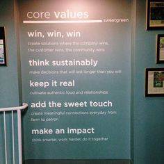 Image result for corporate values display