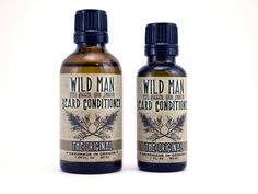Wild Man Beard Conditioner Oil   $12