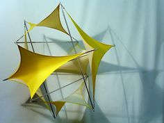 'tensegrity sails' by Val Stavrev - Installation Art from Bulgaria