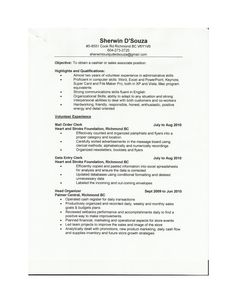 Sales Associate Resume Example   Http://www.resumecareer.info/sales