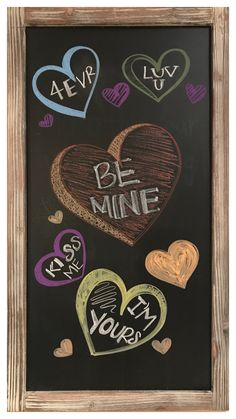 Make A Chalkboard, Chalkboard Drawings, Chalk Wall, Happy Everything, July 4th, Cricut, Valentines, Painting, Ideas
