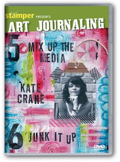 Art Journaling - DVD boxset 5 and 6 by thekathrynwheel, via Flickr