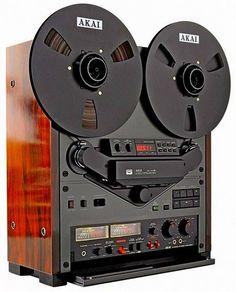 Vintage audio Akai GX-747 DBX reel to reel hi fi stereo