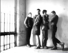 """Joy Division - An Ideal For Living 7"""" outtake photos late 1977 by Gareth Davy"""