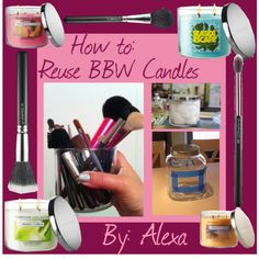 How to Reuse Bath and Body Works Candles
