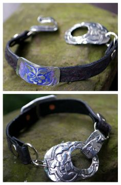 Melinda Orr Metal & Clay Jewelry Designs: Cool bracelets.