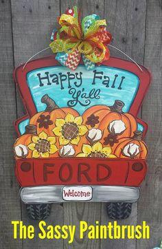 Fall pick up truck