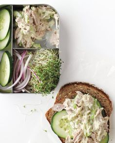 Quick Lunch Ideas For Busy Moms- tangy tuna sandwich
