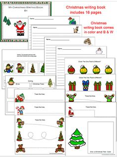 I have added a Christmas Alphabet Cards, Vocabulary Words, and Christmas Writing Book, in both color and B & W... This file is located on the 1 - 2 - 3 Learn Curriculum web site - under Christmas - All Month Long. Please click on the picture to learn how to become a member or to access free downloads. :) Thank you... Jean. 1 - 2 - 3 Learn Curriculum