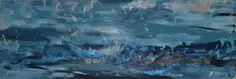 Tempesta Autore Simona Iapichino Acrilico, malta, su tela 150 cm x 50 cm   Descrizione: Spuma di mare fra le infinite onde, rabbiosa corrode gli scogli di destra.  Arriva al cielo, urlando la propria libertà.