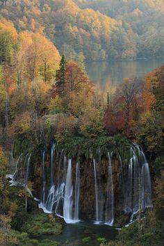 Plitvice Waterfalls, Croatia by Hugo Estevez