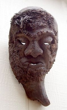 Bamboo-root Mask, Tamang people, Nepal