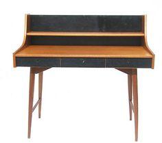 Vintage Desk.  Danish Mid Century Eames Era