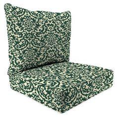 Jordan Manufacturing Outdoor Patio-2 Piece Deep Seat Chair Cushion, Duncan Hunter, Beige