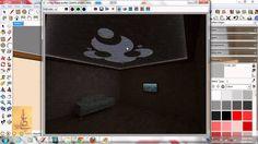 درس اضاءة مخفية ذاتية 3 VRay For SketchUp