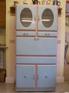 Vintage Kitchen Larder Cupboard 1950s